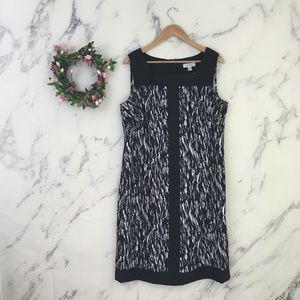 Dress Barn Square Neck Sheath Dress